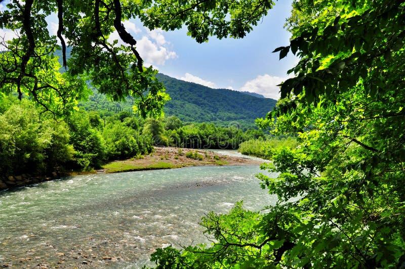 Download Paesaggio Del Fiume Veloce Malaya Laba Fotografia Stock - Immagine di lago, lakeside: 56884734