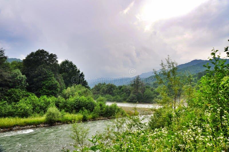 Download Paesaggio Del Fiume Veloce Malaya Laba Fotografia Stock - Immagine di verde, lakeside: 56890050