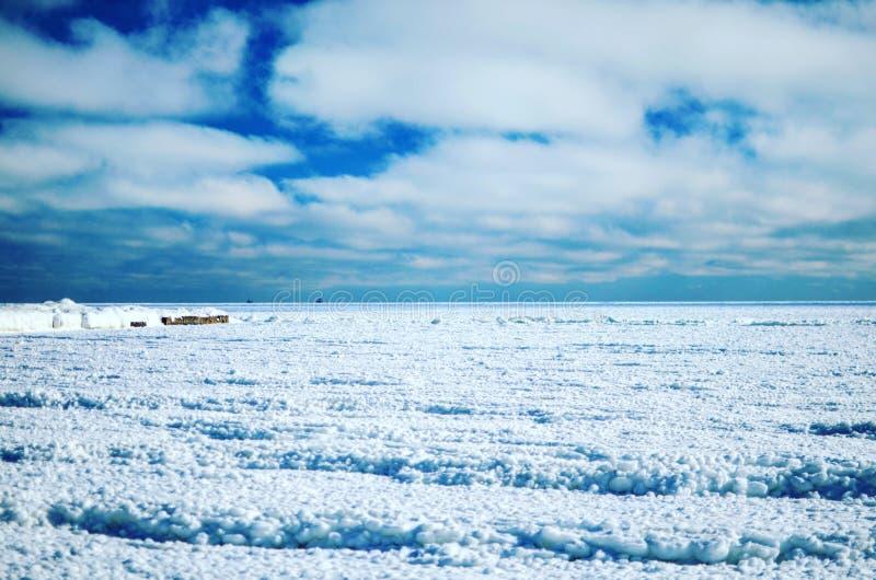 Paesaggio del ghiaccio immagini stock