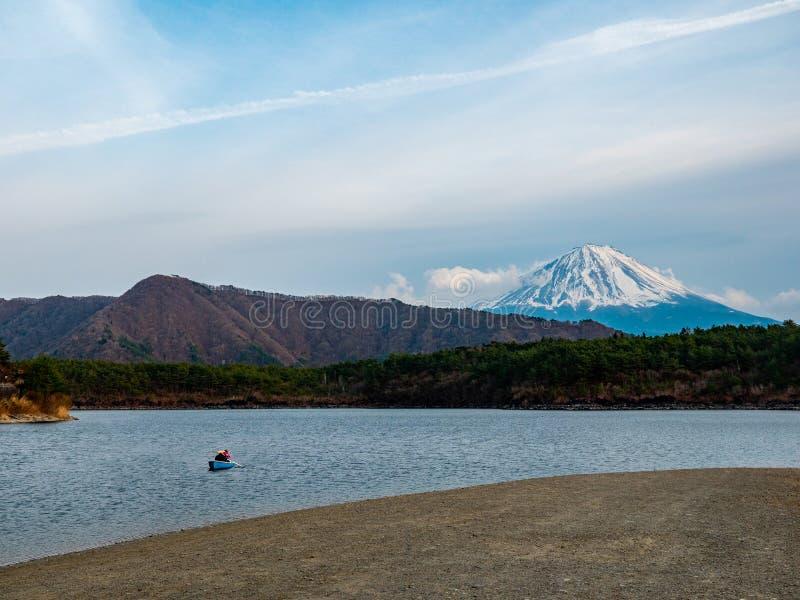 Paesaggio del Giappone della montagna di Fuji fotografia stock