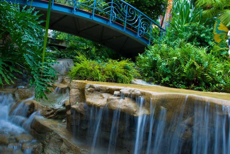 Paesaggio del giardino immagini stock libere da diritti