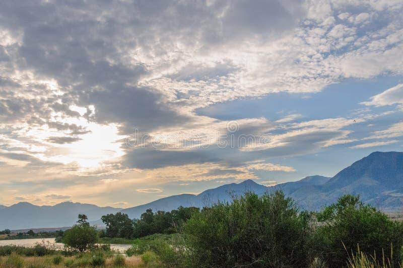 Paesaggio del Nord del Wyoming immagini stock