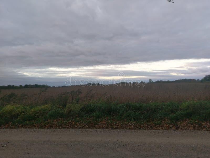 Paesaggio del paese immagine stock