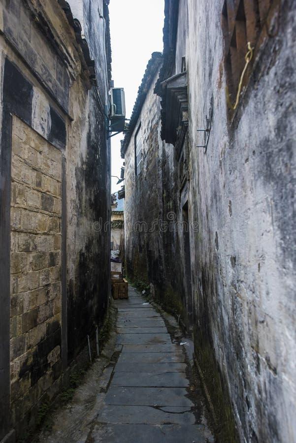Paesaggio del passaggio dell'Anhui huangshan fotografia stock libera da diritti