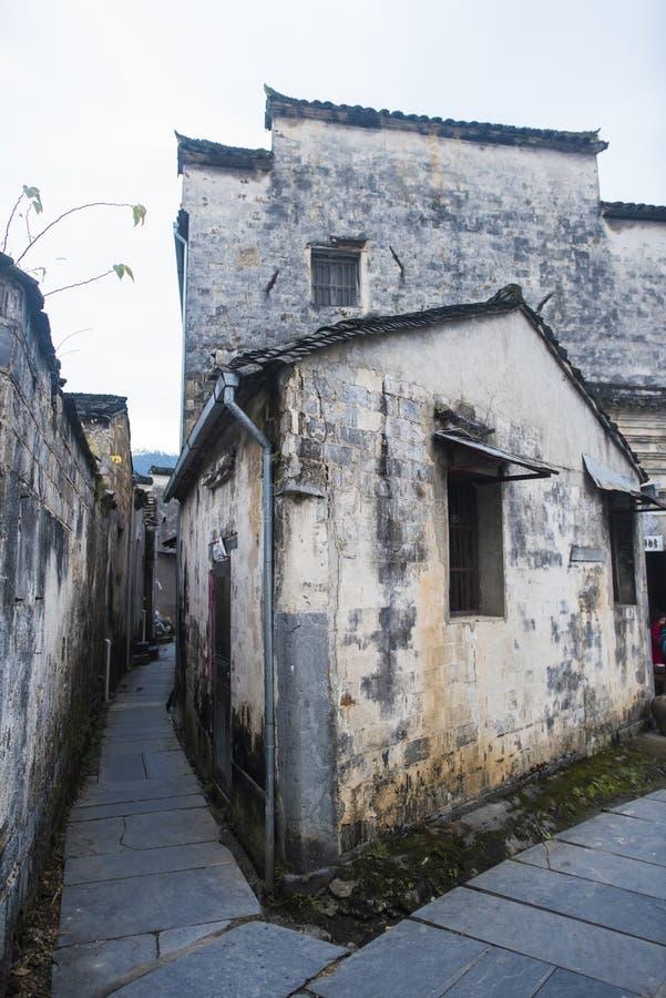 Paesaggio del passaggio dell'Anhui huangshan immagini stock libere da diritti