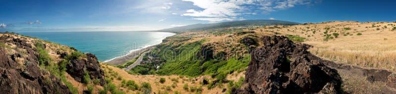Paesaggio del Reunion Island fotografia stock