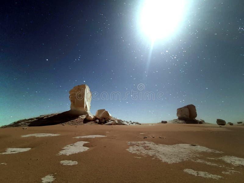 paesaggio del Sahara fotografia stock libera da diritti
