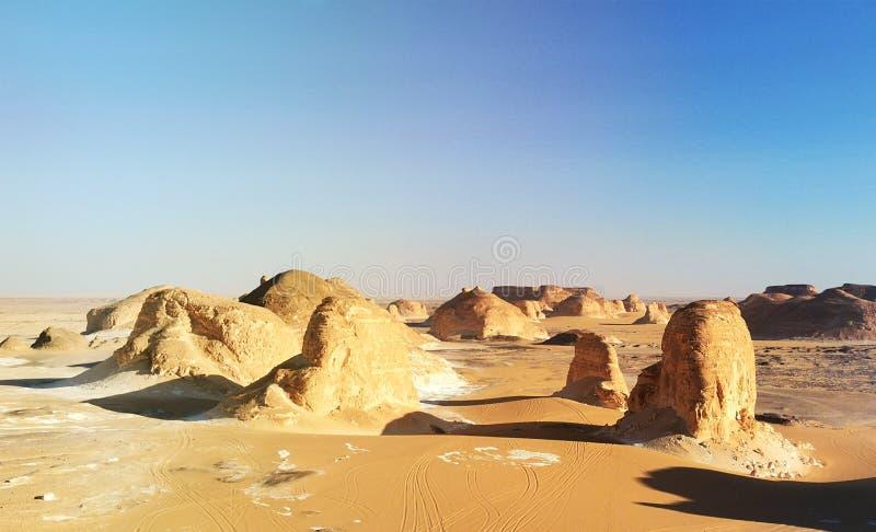 paesaggio del Sahara immagine stock