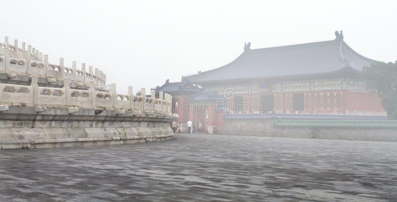 Paesaggio del tempio del cielo fotografia stock libera da diritti