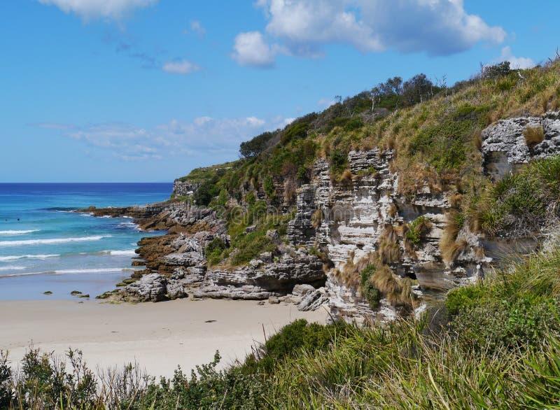 Paesaggio del territorio della baia di Jervis fotografia stock libera da diritti