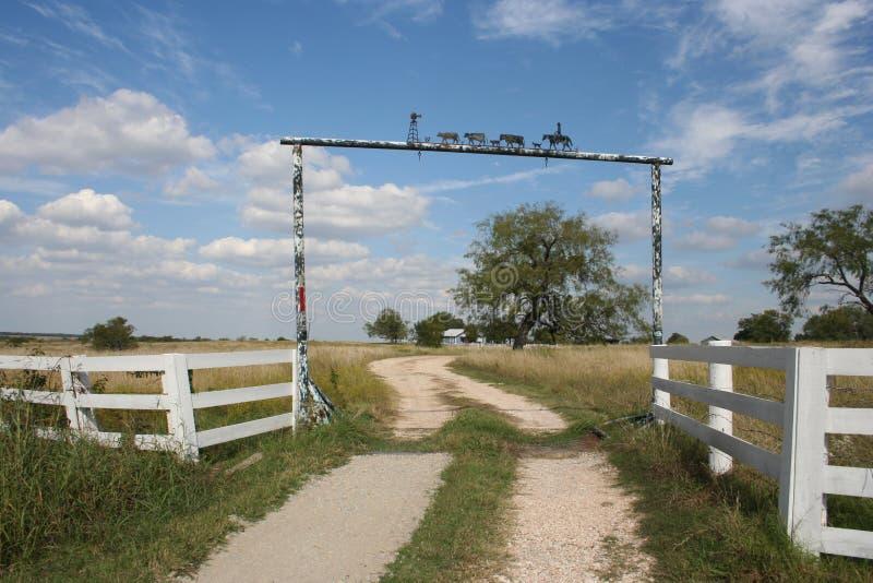 Paesaggio del Texas immagini stock libere da diritti