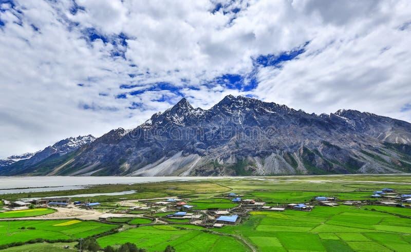 Paesaggio del Tibet immagine stock