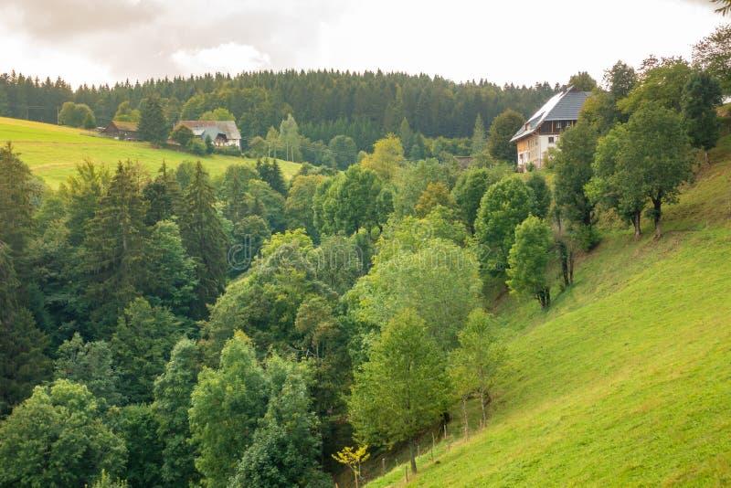 paesaggio del paesaggio vicino a sud Germania di Friburgo Breisgau fotografie stock libere da diritti
