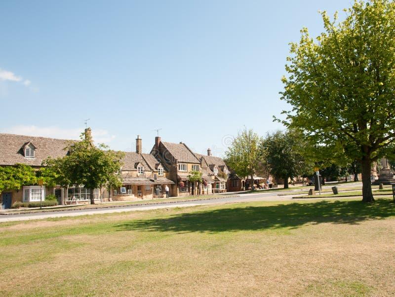 Paesaggio del villaggio fotografie stock