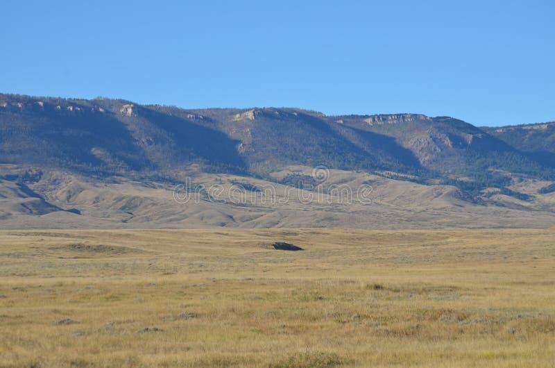 Paesaggio 65 del Wyoming immagini stock
