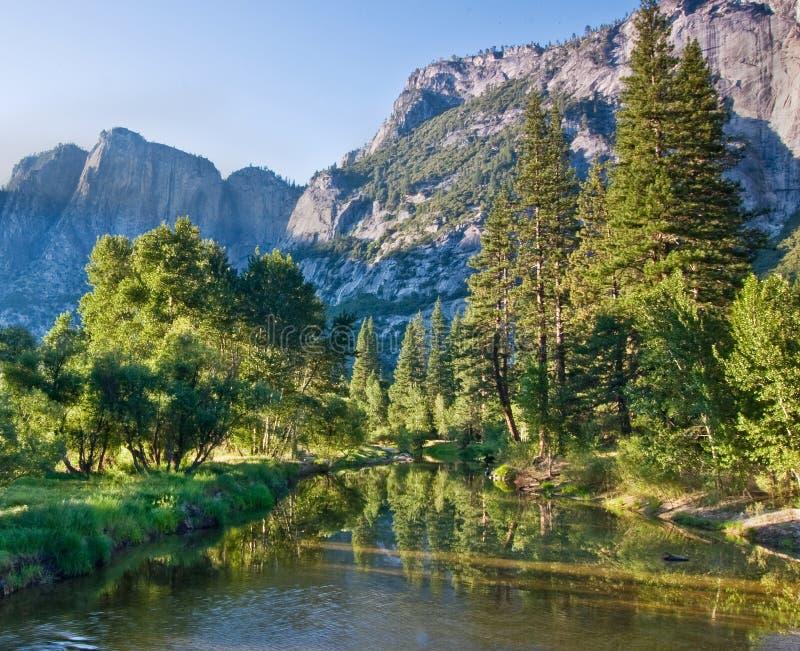 Paesaggio del Yosemite immagini stock libere da diritti