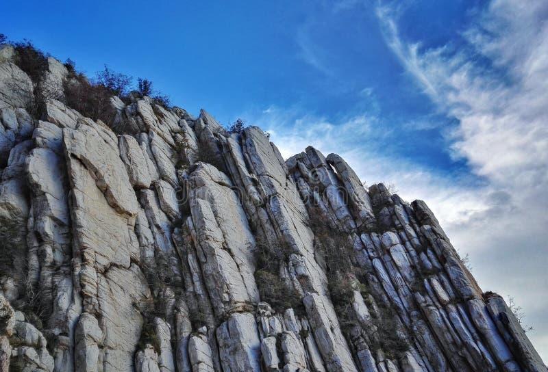 Paesaggio dell'errore del Monte Song fotografie stock