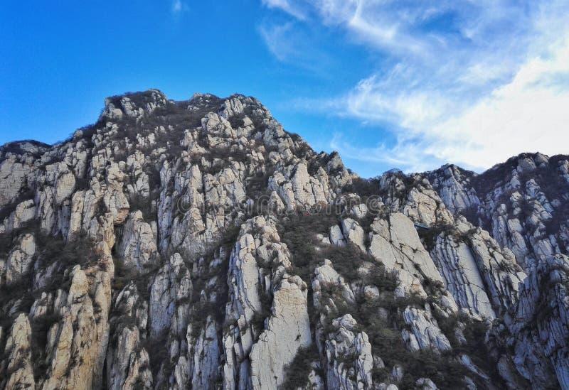 Paesaggio 3 dell'errore del Monte Song fotografia stock libera da diritti
