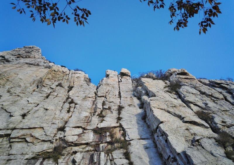 Paesaggio 4 dell'errore del Monte Song immagine stock