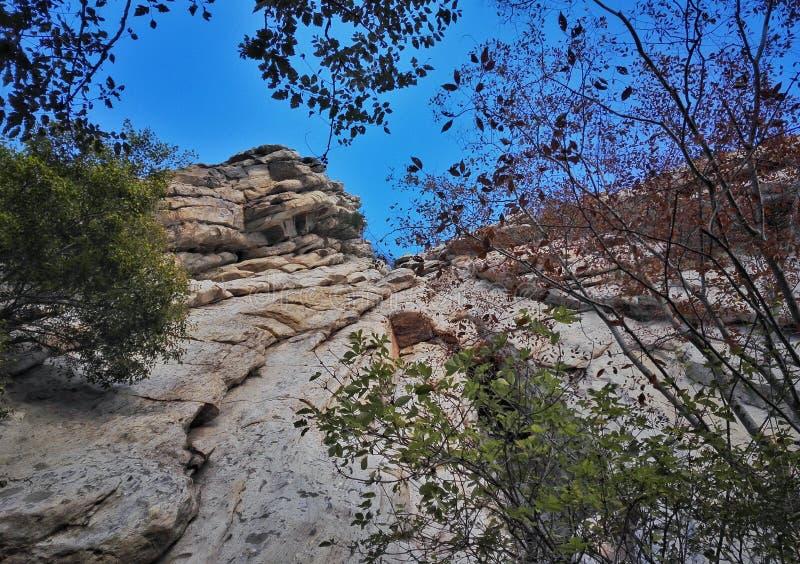 Paesaggio 5 dell'errore del Monte Song fotografie stock