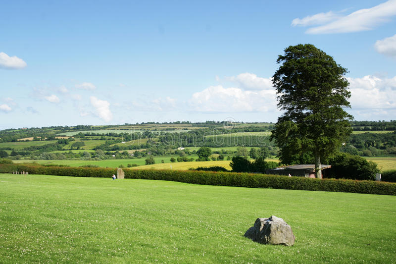 Paesaggio dell'Irlanda fotografie stock