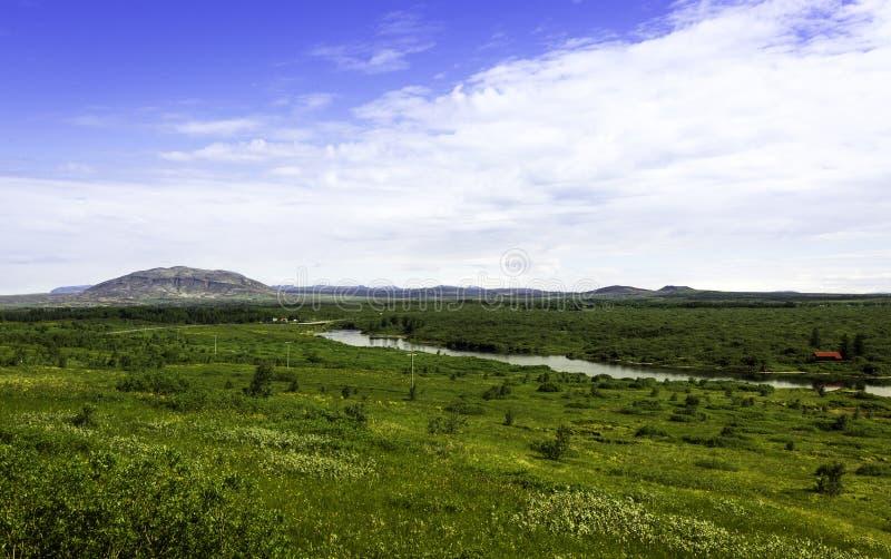 Paesaggio dell'Islanda immagini stock libere da diritti