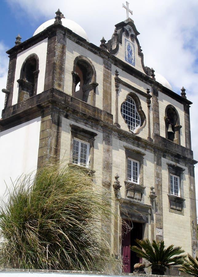 Paesaggio dell'isola del Flores Le Azzorre, Portogallo immagine stock libera da diritti