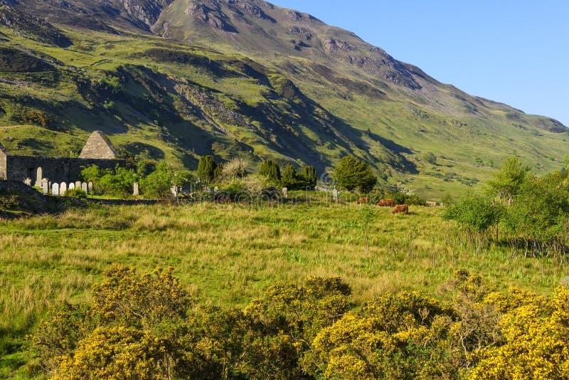 Paesaggio dell'isola di Skye, Scozia immagine stock