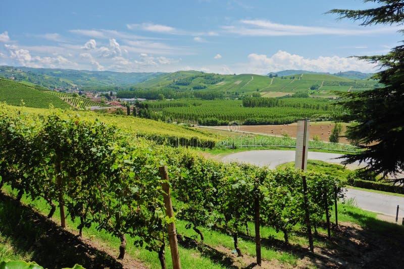 Paesaggio dell'Italia immagini stock libere da diritti