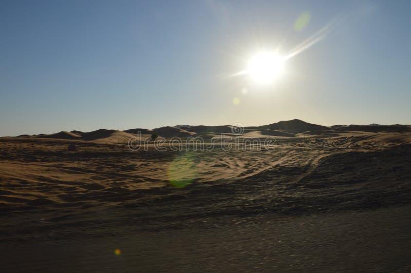 Paesaggio dell'Oman immagini stock