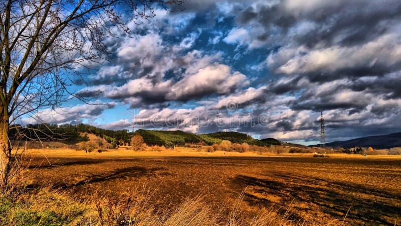 Paesaggio dell'Ungheria fotografie stock libere da diritti