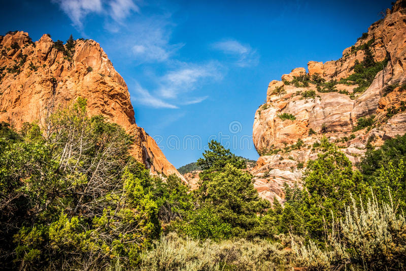 Paesaggio dell'Utah immagine stock