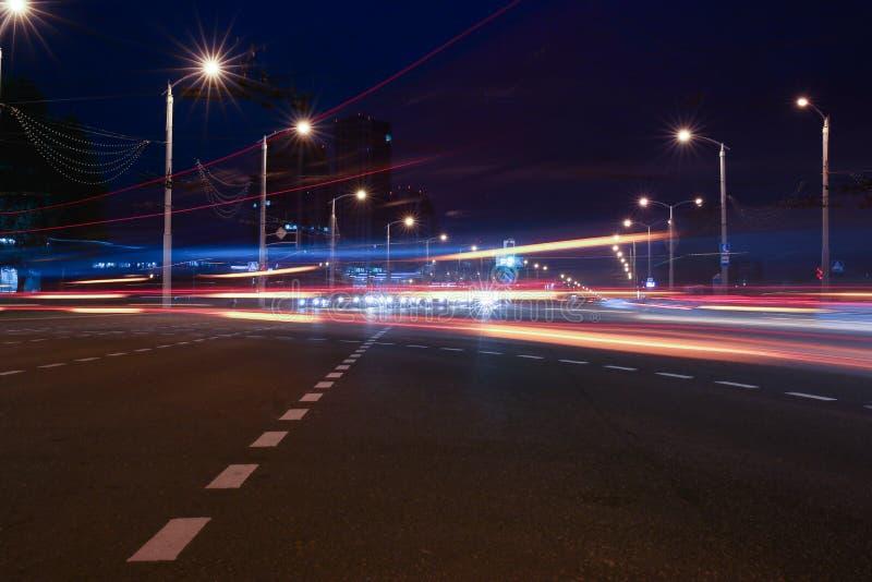Paesaggio della città di Minsk in Bielorussia immagini stock