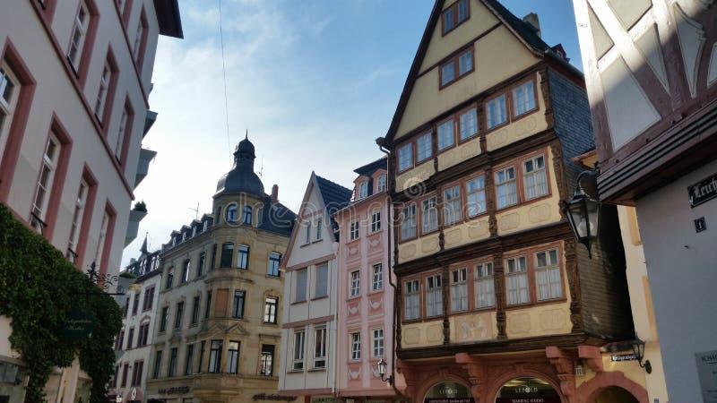 Paesaggio della città della Germania immagini stock libere da diritti