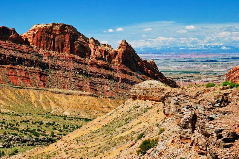 Paesaggio della condizione dell'Utah fotografie stock