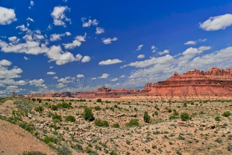 Paesaggio della condizione dell'Utah fotografia stock