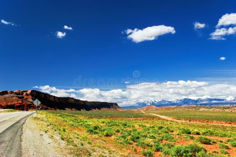 Paesaggio della condizione dell'Utah. Gli S.U.A. immagini stock