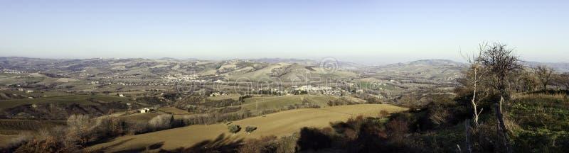 Paesaggio della Marche, Italia fotografie stock libere da diritti