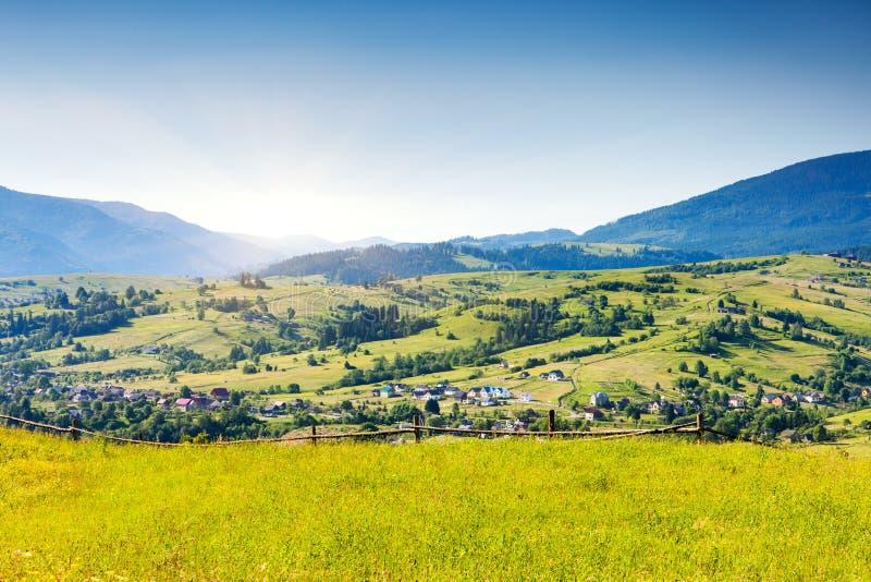 paesaggio della montagna. immagini stock