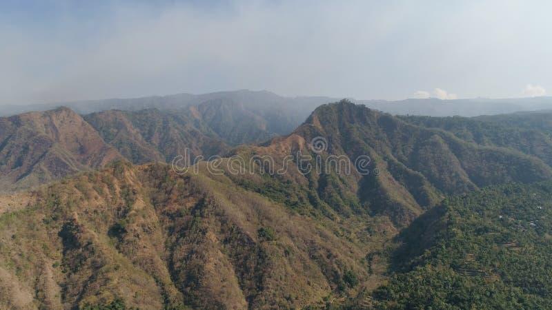 Paesaggio della montagna in Bali, Indonesia immagine stock