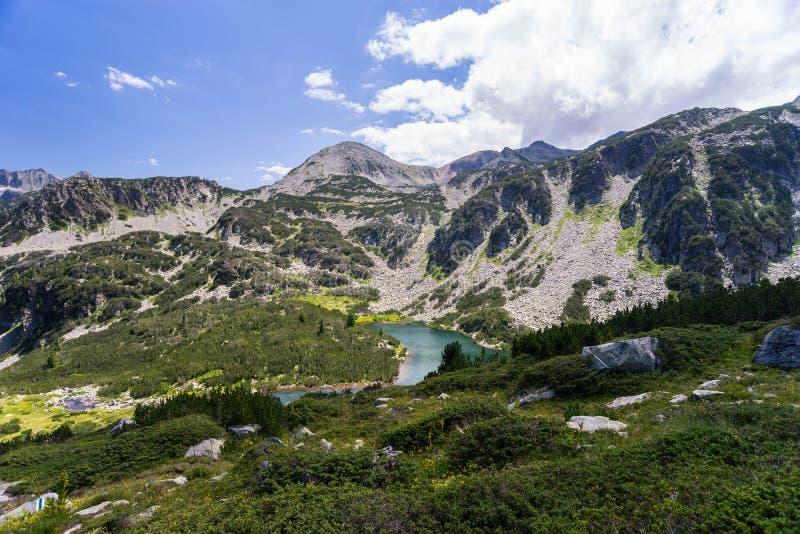 Paesaggio della montagna di Pirin immagine stock