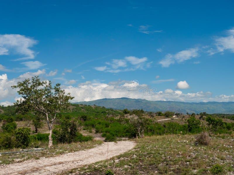 Paesaggio della montagna nelle Filippine fotografie stock libere da diritti