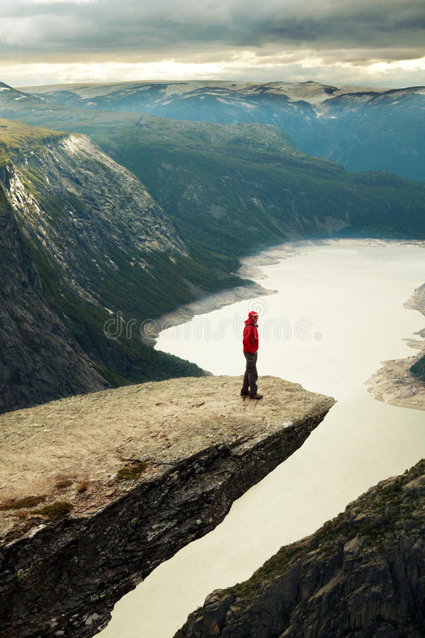 Paesaggio della Norvegia immagine stock