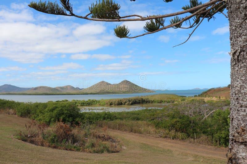 Paesaggio della Nuova Caledonia immagini stock libere da diritti