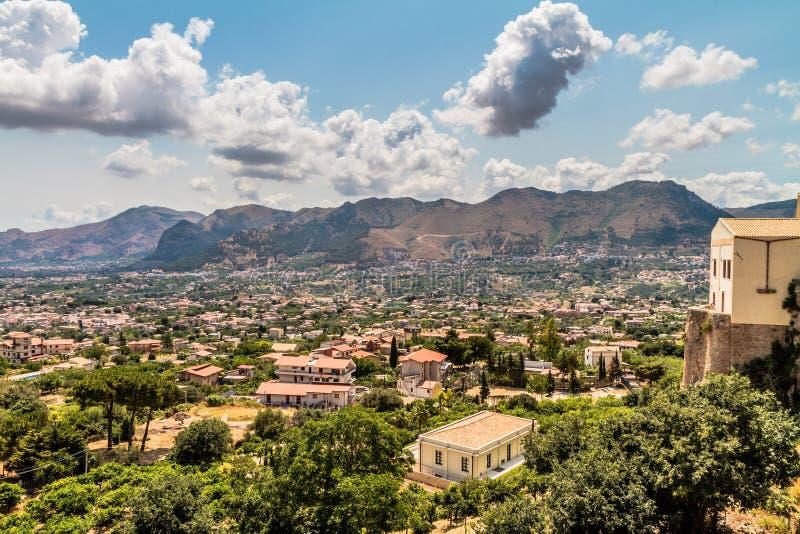 Paesaggio della Sicilia fotografie stock