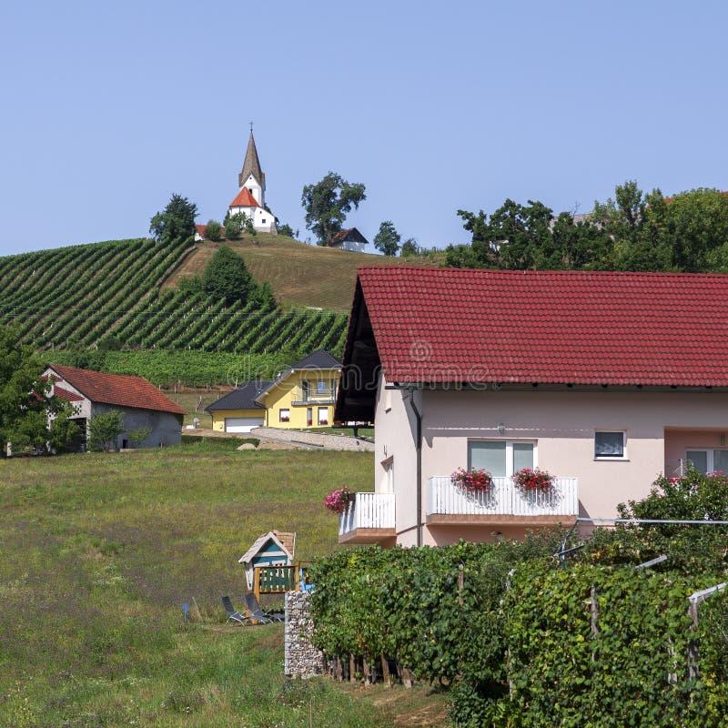 Paesaggio della Slovenia fotografie stock libere da diritti