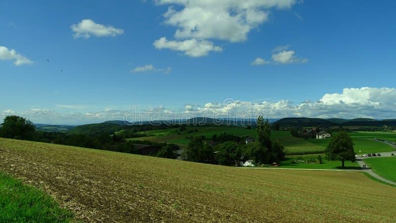 Paesaggio della Svizzera immagini stock