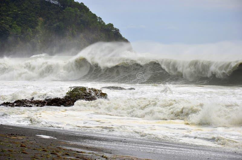 Paesaggio delle onde di oceano immagine stock