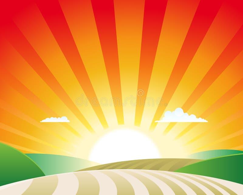 Paesaggio di agricoltura