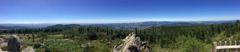 Paesaggio di Alvernia fotografia stock libera da diritti